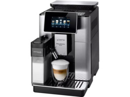 DELONGHI Primadonna Soul ECAM 610.75 MB , Kaffeevollautomat, 2.2 l Wassertank, 19 bar, Metall/Silber