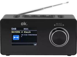 OK. OCR 430-B, Radiowecker, Schwarz