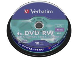 VERBATIM 43552 DVD-RW SERL, Rohling
