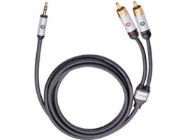 OEHLBACH 60006 I-Connect, Cinch-Klinke-Kabel