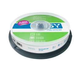 ISY IDV-3000 DVD+R DL 10er Spindel, DVD+R