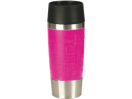 EMSA 513550 Travelmug Thermobecher, Himbeere