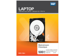 WD Laptop Mainstream™, 500 GB, 2.5 Zoll, Festplatte