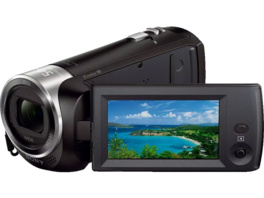 SONY HDR-CX 240 EB Zeiss Full HD Camcorder, Exmor R CMOS Sensor, Carl Zeiss, 27x opt. Zoom, Schwarz