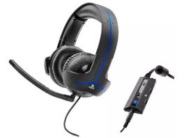 THRUSTMASTER Y-300P (PS4 / PS3) Gaming Headset, Schwarz/blau