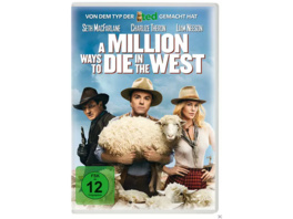 A Million Ways to Die in the West - (DVD)