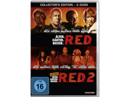 R.E.D./ R.E.D. 2 (COLLECTORS EDITION) - (DVD)