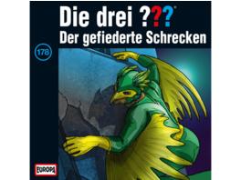 Die drei ??? 178: Der Gefiederte Schrecken - 0 CD - Kinder/Jugend