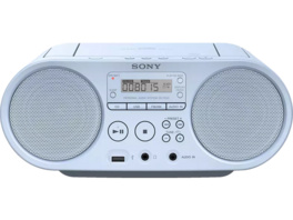 SONY ZS-PS50 Boombox, CD Radio, Blau