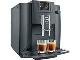 JURA E60 , Kaffeevollautomat, 15 bar, Piano Black