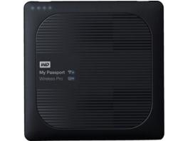 WD My Passport™ Wireless Pro, 3 TB, 2.5 Zoll, Festplatte, Schwarz