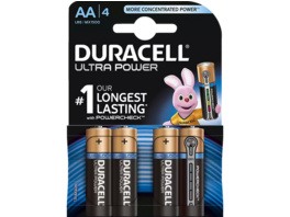 DURACELL Ultra Power AA Mignon Batterie, 4 Stück