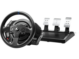 THRUSTMASTER T300 RS GT Edition (inkl. 3-Pedalset, PS4 / PS3 / PC), Lenkrad, Schwarz