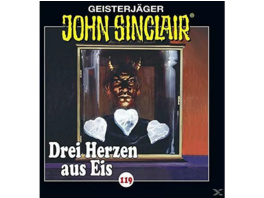 119 - DREI HERZEN AUS EIS - 1 CD - Horror