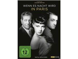 Wenn es Nacht wird in Paris (Digital Remastered) - (DVD)