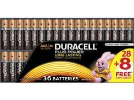 DURACELL Plus Power AAA (Micro) Batterien, 36 Stück