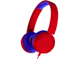 JBL JR300, On-ear Kopfhörer, Rot/Blau