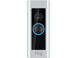RING Video Doorbell PRO, Videotürklingel, 1080 Pixel, Satin-Nickel