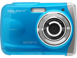 EASYPIX W1024 Splash  Digitalkamera, 16 Megapixel, 1x opt. Zoom, Blau
