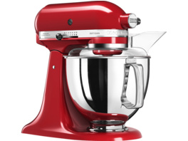 KITCHENAID 5KSM175PSEER Artisan, Küchenmaschine, 300 Watt, Empire Rot