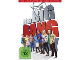 The Big Bang Theory - Die komplette Staffel 10 - (DVD)