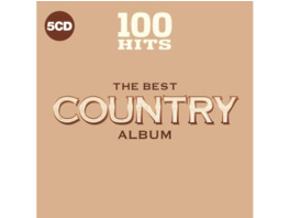 VARIOUS - 100 Hits-Best Country - (CD)