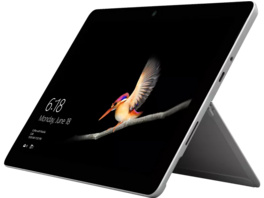 MICROSOFT Surface Go, Tablet mit 10 Zoll Display, Pentium® Gold Prozessor, 8 GB RAM, 128 GB SSD, Intel® HD-Grafik 615, Silber