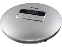 GRUNDIG GCDP 8000, Tragbarer CD-Player, Silber
