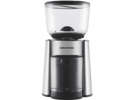 GRUNDIG CM 6760, Kaffeemühle, Edelstahl/Schwarz