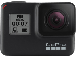 GOPRO HERO7 Black Action Cam, WLAN, GPS, Schwarz