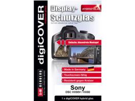 S+M G4077 Schutzglas, Display Schutz für Kamera Monitor, Transparent