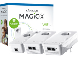 Powerline Adapter DEVOLO devolo 8391 Magic 2 WiFi 2-1-3 Multiroom Kit Powerline 2400 Mbit/s
