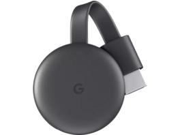 GOOGLE Chromecast Streaming Player, 3. Generation Streaming Player, Karbon