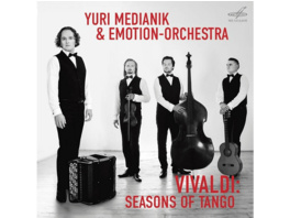 Yuri/emotion Orchestra Medianik - Seasons of Tango - (CD)