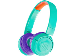 JBL JR 300, On-ear Kopfhörer, Bluetooth, Türkis/Lila