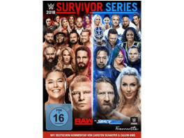 Survivor Series 2018 - (DVD)