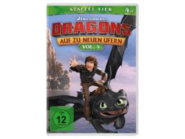 Dragons-Auf zu neuen Ufern-Staffel 4-Vol.... - (DVD)