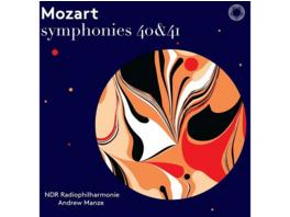 Andrew/ndr Radiophilharmonie Manze - Mozart Sinfonien 40 & 41 - (SACD Hybrid)
