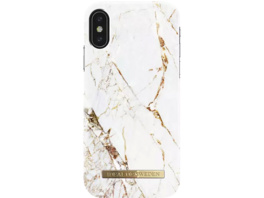 IDEAL OF SWEDEN Fashion Handyhülle, Apple iPhone X/iPhone XS, Carrara Gold