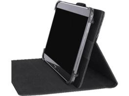 TUCANO Unico Tablethülle, Bookcover, Schwarz, passend für: Universal Universal