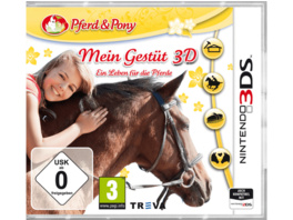 Mein Gestüt 3D: Ein Leben für die Pferde - Nintendo 3DS