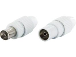 SCHWAIGER KST 3032S 532 IEC-Stecker, Weiß