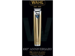 WAHL Stainless Steel Gold, Barttrimmer, Gold/silber