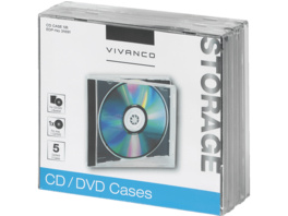 VIVANCO Jewel Case Leerhüllen
