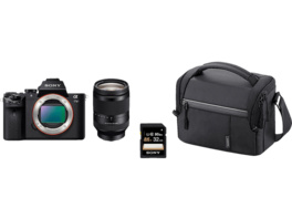 SONY Alpha 7 M2 + Telezoom KIT Systemkamera 24.3 Megapixel mit Objektiv 24-240 mm , 7.6 cm Display  , WLAN