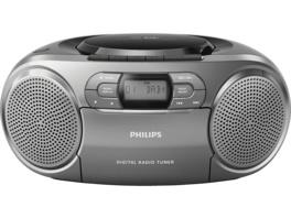 PHILIPS AZB600/12, Radiorecorder, Silber