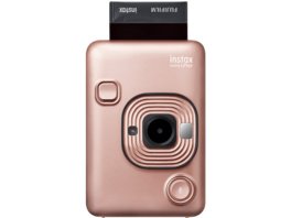 FUJIFILM instax mini LiPlay Sofortbildkamera, Blush Gold