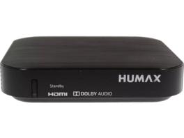 HUMAX Kabel HD Nano HDTV Kabelreceiver, Schwarz