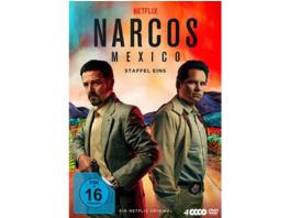 Narcos: Mexico - Staffel 1 - (DVD)