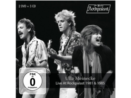 Ulla Meinecke - Live at Rockpalast 1981 and 1985 (3CD+2DVD) - (CD + DVD Video)